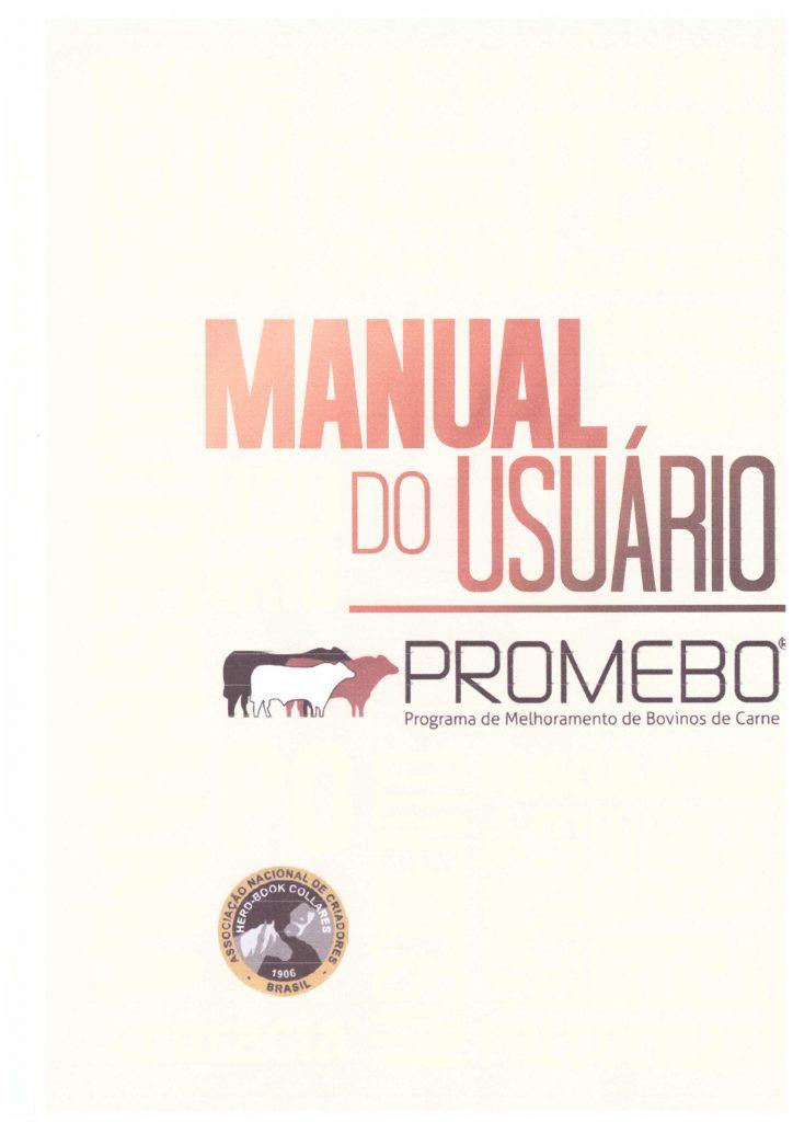 Manual do Usuário PROMEBO